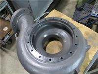 : Pump Housing Thermal Sprayed