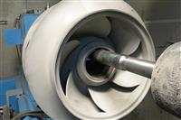 : Thermal Sprayed Pump Impeller